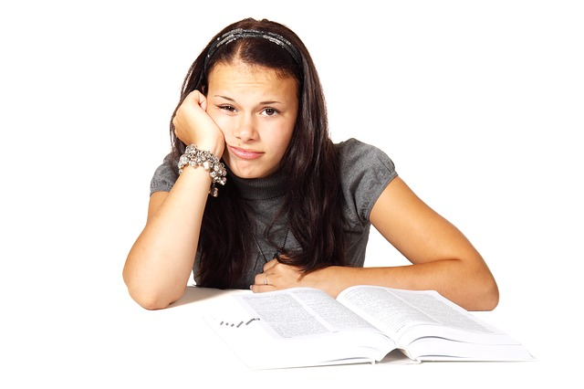 znuděná studentka