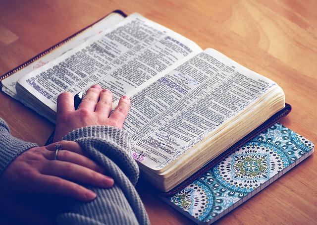 otevřená bible