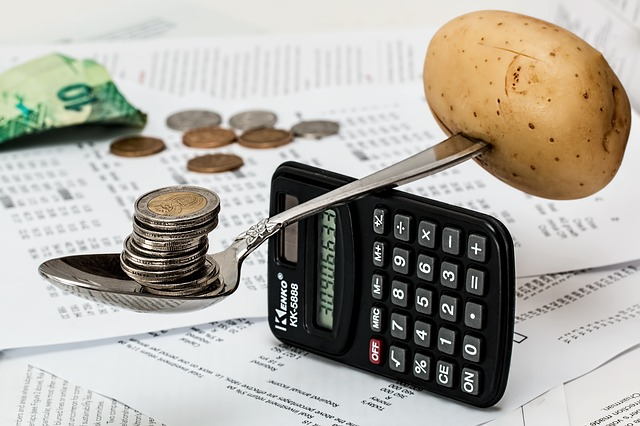 mince a kalkulačka