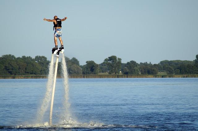 flyboard vodní sport