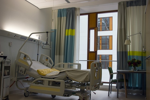 nemocniční pokoj